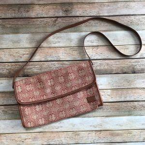 Levi's woven crossbody convertible purse/clutch